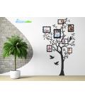Copacul familiei - stickere de perete
