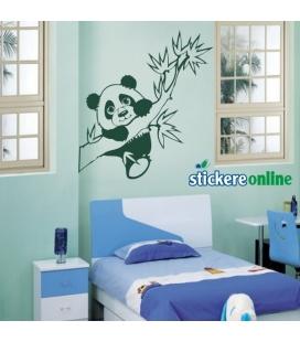 Ursuletul Panda - sticker decorativ perete