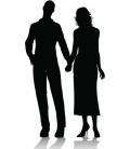 Cuplu romantic 3 - stiker