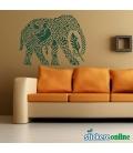 Elefantul indian - stickere decorative