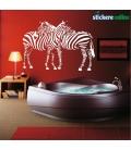 2 Zebre - stickere decorative
