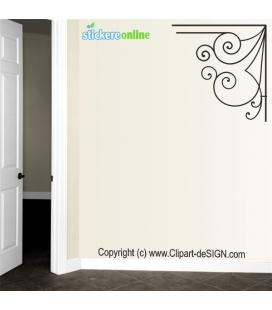 Design fier forjat - sticker decorativ