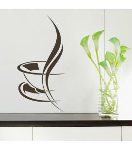 Cesti de cafea - stickere decorative