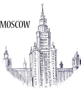 Citysimbols Moscova - autocolante decorative perete