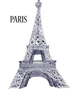 Citysimbols Paris - autocolante perete