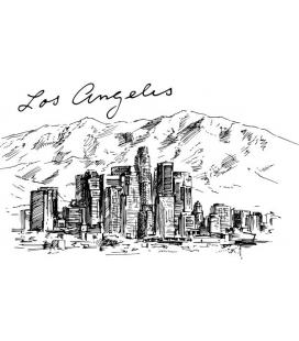 Citysimbols Los Angeles - colant perete