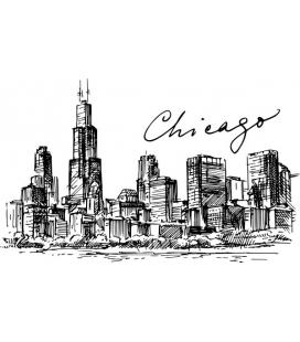 Citysimbols Chicago - decoratiune perete