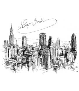Citysimbols New York - sticker decorativ